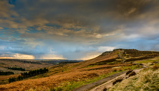 Snowstorms and Higger Tor