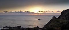 PanoPuestaFaro1.jpg (JesCR) Tags: espaa costa europa paisaje galicia lugares panoramicas estilo fisterra