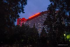 Night view of Pyongyang City (reubenteo) Tags: city democracy scenery war communist communism kimjongil socialist metropolis socialism northkorea pyongyang dprk reunification kimilsung kimjongun