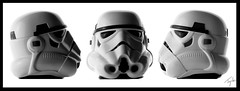 The Stormtrooper (Simon Taylor Local Photographic) Tags: white black starwars helmet stormtrooper darkside visor