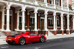 Speciale (AaronChungPhoto) Tags: london car ferrari knightsbridge supercar v8 speciale 458 458speciale