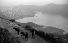 Above Phewa Tal (GrainyDayCollective) Tags: leica nepal film analog asia countries cameras pokhara analogphotography 35mmphotography continents leicam6 filmphotography phewatal adox silvermax adoxsilvermax