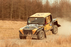 britpart safari 4x4 racing at the Walters Arena (technodean2000) Tags: blackandwhite monochrome car sport wales race 1 nikon 4x4 outdoor south rally bank racing arena safari round vehicle glyn tamron f28 walters lightroom 70200mm neath d610 britpart