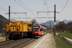 Kirow VS Talent (Maxime Espinoza) Tags: zug talent infra grue autriche bombardier obb ferroviaire kirow schaftenau