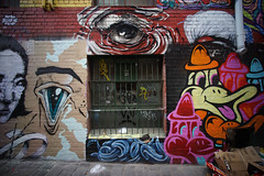 (th3butcherofbilbao) Tags: street art mike melbourne eleven caper