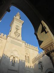 Minaret through an arch, The Islamic Center, Massachusetts Avenue NW, Washington, D.C. (Paul McClure DC) Tags: sculpture architecture washingtondc districtofcolumbia mosque historic embassyrow march2016