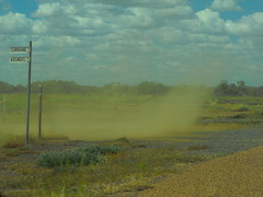 Dust Devil or Willy-Willy Longreach Qld 2016-03-23 (magpie.cottage) Tags: weather desert dry australia drought queensland climate arid dustdevil longreach willywilly