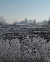 Frosty morning vertical (virgil martin) Tags: winter snow ontario canada landscape frost hoarfrost gimp wellesleytownship waterlooregion mennonitefarm oloneo olympusomdem5