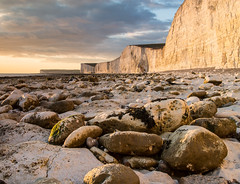 Birling Gap sunset (EmiRose8) Tags: sunset sisters downs sussex coast south gap cliffs seven southdowns birling birlinggap severnsisters