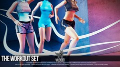 [VALE KOER] THE WORKOUT SET (VALE KOER) Tags: life work out 3d mesh vale second gym hourglass vk maitreya koer slink kustom9