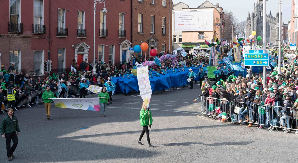 DIT - THE FUTURE IS PRESENT [ST.PATRICK'S DAY PARADE 2016]-112256