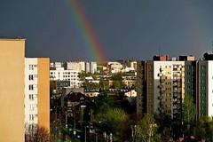 jnowak64 (jnowak64) Tags: poland polska krakow cracow aura mik wiosna malopolska bronowice architektura tecza krajobraz krakoff