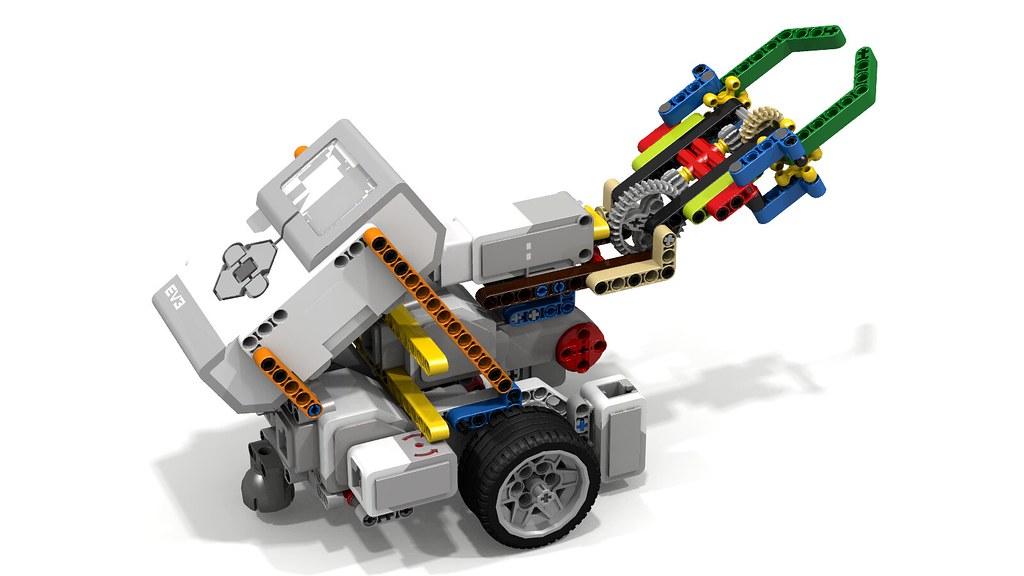 Lego Mindstorm Claw Instructions