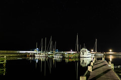Silent Night (M.R.Bach) Tags: longexposure night canon dark stars denmark boats star boat dock ship ships nightsky tamron danmark havns 2470 eos6d