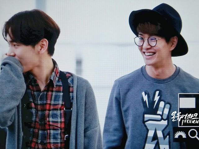 160401 SHINee (Sin Jonghyun) @ Aeropuerto de Incheon {Rumbo a Japón} 25948408560_fc491c768a_z