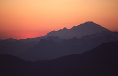 Mt. Baker at Sunset (Mike Dole) Tags: washingtonstate northcascades northcascadesnationalpark eldoradopeak