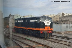 B141 at Inchicore, 22/4/16 (hurricanemk1c) Tags: dublin irish train nikon gm rail railway trains railways 141 irishrail generalmotors inchicore 2016 emd iarnród d3200 éireann rpsi iarnródéireann railwaypreservationsocietyofireland b141