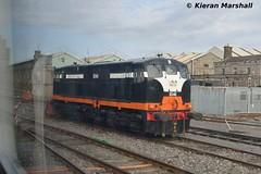 B141 at Inchicore, 22/4/16 (hurricanemk1c) Tags: dublin irish train nikon gm rail railway trains railways 141 irishrail generalmotors inchicore 2016 emd iarnrd d3200 ireann rpsi iarnrdireann railwaypreservationsocietyofireland b141