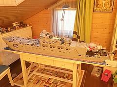 WIP :P (i_igoshev) Tags: war ship lego military wip destroyer battleship cruiser warship moc