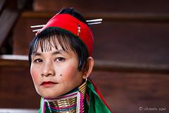 Long Woman Portrait 2608 (Ursula in Aus - Away) Tags: portrait burma karen myanmar inlelake hilltribes hilltribe environmentalportrait karlgroblphototour