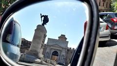 A glimpse at the past... Uno sguardo al passato... (louisek4) Tags: auto life street city mirror reflex strada vita specchio citt traffico riflesso