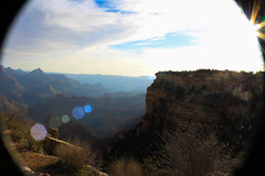 Grand Canyon (najuaasad) Tags: arizona grandcanyon fisheye lensflare