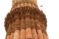 Delhi - Qutub minar (Claudio Nichele) Tags: india delhi qutub minar
