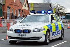 PE13 MJO (S11 AUN) Tags: car traffic 4x4 police bmw vehicle motor roads emergency unit 999 5series merseyside rpu policing patrols 530d anpr northwestmotorwaypolicegroup nwmpg pe13mjo