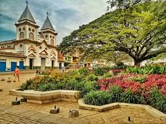 Parque Principal Hispania (juant1989) Tags: verde green church nature coffee caf colombia peace pueblo iglesia antioquia hispania lansdcape