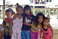 sisters and their friends (the foreign photographer - ) Tags: girls friends sisters portraits children thailand nikon five bangkok bang bua khlong bangkhen d3200 aug222015nikon