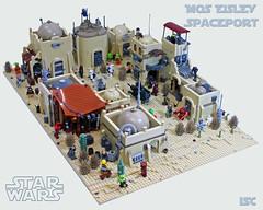 Mos Eisley Spaceport (I Scream Clone) Tags: mos star lego scifi wars eisley