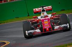 Sebastian Vettel. 2016 Australian Grand Prix (Dom Puglisi) Tags: f1 ferrari formula1 scuderiaferrari australiangrandprix sebastianvettel