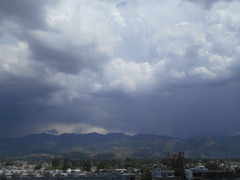 Minutes before the rain. (Abbottabad, Pakistan) (Somersaulting Giraffe) Tags: pakistan mountains rain clouds outdoor enormous abbottabad