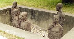 Slave Market in Zanzibar (J K Johnson) Tags: africa sculpture art history tanzania moving chains interesting sad blacks zanzibar slaves africans cruel jimjohnson jkjohnson