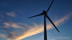 Windmill silo (Sailor Alex) Tags: france landscape windmills giants windpower windgeneration languedocroussilon
