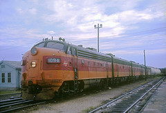 Milwaukee Road F7 109A (Chuck Zeiler) Tags: road railroad train milwaukee locomotive chz milw f7 emd 109a