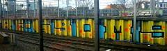 Utrecht graffiti (remcovdk) Tags: graffiti utrecht track zondagboekenweektreinweg20maart