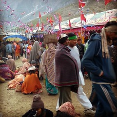 #amarnathyatra 2012 #kashmir #indien #Pilgerreise #india #pilgrimage #hindu #hinduism #yatra #pahalgam #shivaTrekking Route 4 Tage / 3 Nächte: Pahalgam - Chandanwari -  Sheshnag - Sangam - Holy Cave (3.888 m) - Baltal
