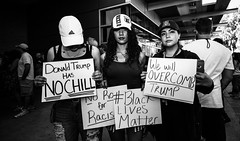 Has No Chill (Johnny Silvercloud) Tags: arizona people blackandwhite bw detail public monochrome sepia mexico blackwhite tuscon political highcontrast latin daytime donaldtrump trump racism gop republicans presidentialcandidate bigotry sociopolitical politicalevent politicspoliticians canon5dmarkiii lightroom5 blacklivesmatter johnnysilvercloud trump2016 johnnysilvercloudphotography