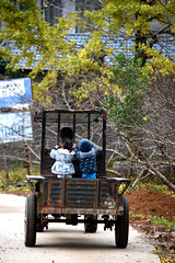 Cute riders (MelindaChan ^..^) Tags: china guilin guangxi