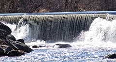 P1190767 (Rimager) Tags: water river waterfall dam fallingwater