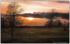 upper largo (smilne2112) Tags: light sun clouds canon landscape dawn golden scotland sheep fife vibrant hour