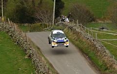 Circuit of Ireland Rally 2016 (Enda Healy) Tags: ireland irish cars ford wet ahead tarmac jump nikon european fiesta serious action rally citroen fast competition belfast tires dirt d750 british nikkor northern circuit peugeot tyres rallye breen erc drift skoda fabia ds3 208 pirelli r5 2016 kajto