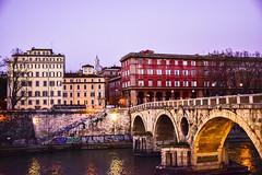 Ponte Sisto (Francisco Esteve Herrero) Tags: italy roma italia trastevere pontesisto 2016 pacoesteveherrero franciscoesteveherrero