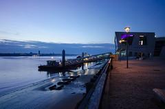 Liverpool (Shane Jones) Tags: sea night liverpool nikon estuary mersey pierhead 2470mm d7000