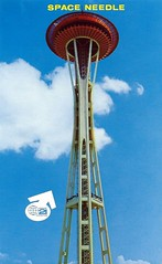Vintage 1962 Seattle World's Fair Postcard, The Century 21 Exposition - The Space Needle (France1978) Tags: seattle worldsfair seattlespaceneedle century21exposition 1962seattleworldsfair vintageseattleworldsfairpostcard
