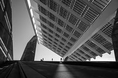 . (glynbrownson) Tags: barcelona city urban blackandwhite monochrome architecture geometry highcontrast ricohgr