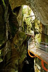 les Gorges du Fier (standdeb) Tags: eau du rivire gorges roche hautesavoie fier parcours gorgesdufier lovagny
