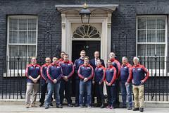 PM meets the UK Invictus Games team (The Prime Minister's Office) Tags: uk london sports pm primeminister 10downingstreet helpforheroes primeministerdavidcameron invictusgames georginacoupe