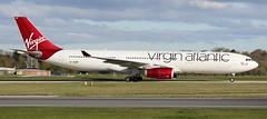 G-VGBR VIRGIN ATLANTIC AIRWAYS AIRBUS A330-343E (Roger Lockwood) Tags: man manchesterairport egcc airbusa330 virginatlanticairways gvgbr